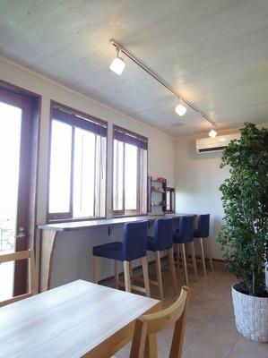 cafeの店内です。