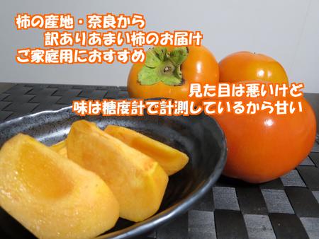 【訳ありだけど甘い】富有柿「送料無料」